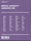 Mineral Commodity Summaries, 2008