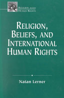 Religion  Beliefs  and International Human Rights