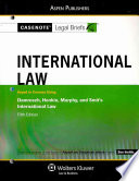 International Law, Keyed to Damrosch, Henkin, Murphy, and Smit's