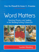 Word Matters Book