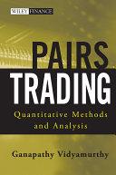 Pairs Trading Pdf/ePub eBook