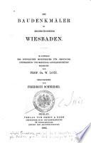 Die Baudenkmäler im Regierungsbezirk Wiesbaden