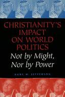 Christianity s Impact on World Politics