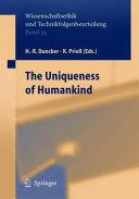 On the Uniqueness of Humankind [Pdf/ePub] eBook