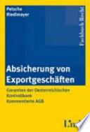 Absicherung von Exportgeschäften