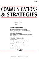 Communications & Strategies