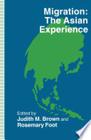 Migration The Asian Experience