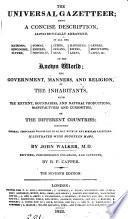 The Universal Gazetteer Book PDF