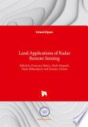 Land Applications of Radar Remote Sensing