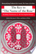 The Key to  The Name of the Rose  Book