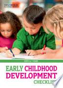 Early Childhood Development Checklist