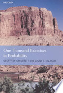Cover of One Thousand Exercises in Probability