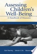 Assessing Children s Well Being