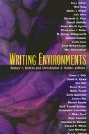 Writing Environments