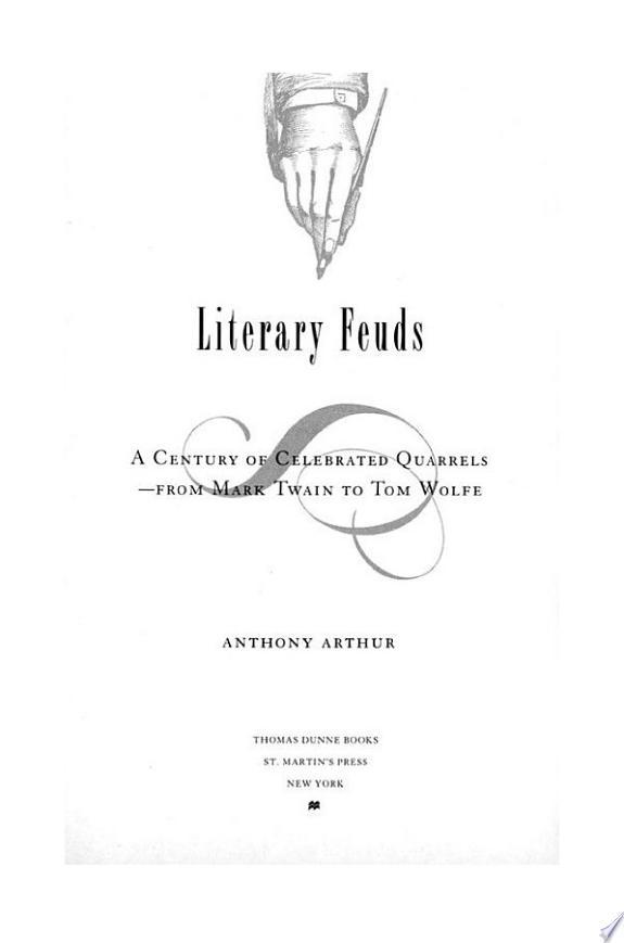 Literary+Feuds