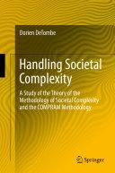 Pdf Handling Societal Complexity