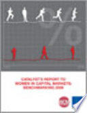 Catalyst's report to women in Capital markets Benchmarking 2008