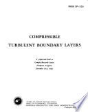 Compressible Turbulent Boundary Layers