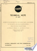 Effect Of Eccentricity Of The Lunar Orbit Oblateness Of The Earth And Solar Gravitational Field On Lunar Trajectories PDF