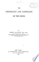 The Physiology and Pathology of the Mind Book