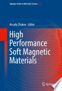 High Performance Soft Magnetic Materials Book