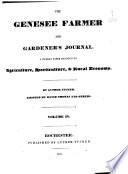 The Genesee Farmer and Gardener s Journal
