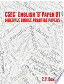 CSEC ENGLISH  B  PAPER 01 Multiple Choice Practice Papers Book