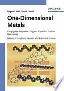 One Dimensional Metals Book PDF