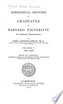 Sibley S Harvard Graduates