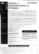 Journal of Communications and Networks Book