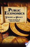 Public Economics Book
