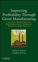 Improving Profitability Through Green Manufacturing