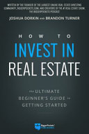 How to Invest in Real Estate Book