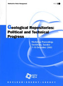 Geological Repositories Book
