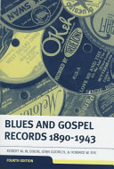 Blues   Gospel Records  1890 1943