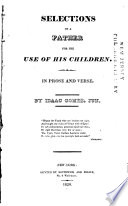 Selections Of A Father For The Use Of His Children