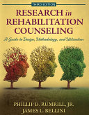 RESEARCH IN REHABILITATION COUNSELING