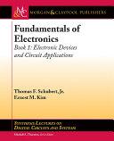 Fundamentals of Electronics: Book 1 Pdf/ePub eBook