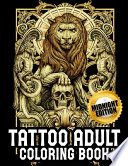 Midnight Tattoo Coloring Book