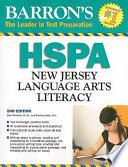 Barron's HSPA New Jersey Language Arts Literacy Test