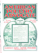 American Poultry Advocate Book