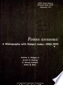 Fomes Annosus Book