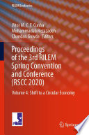 Proceedings of the 3rd RILEM Spring Convention and Conference  RSCC 2020