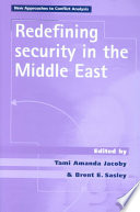 Redefining Security in the Middle East Book