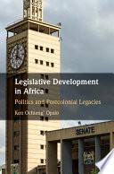 Legislative Development In Africa