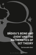Pdf Badiou's Being and Event and the Mathematics of Set Theory