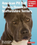 American Pit Bull Terriers American Staffordshire Terriers Book