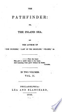 """""""The Pathfinder: Or, The Inland Sea"""" by James Fenimore Cooper"""