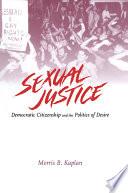 Sexual Justice Book PDF
