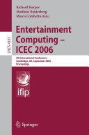 Entertainment Computing   ICEC 2006